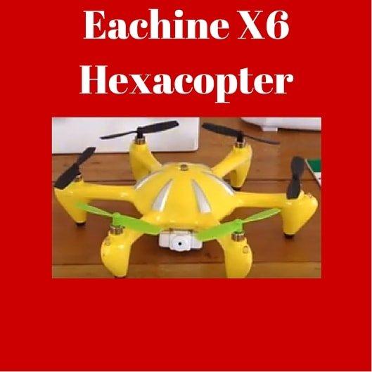 eachine X6 hexacopter