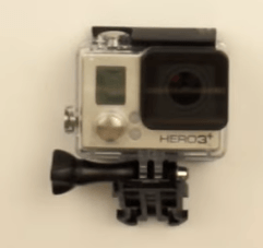GoPro quadcopter camera